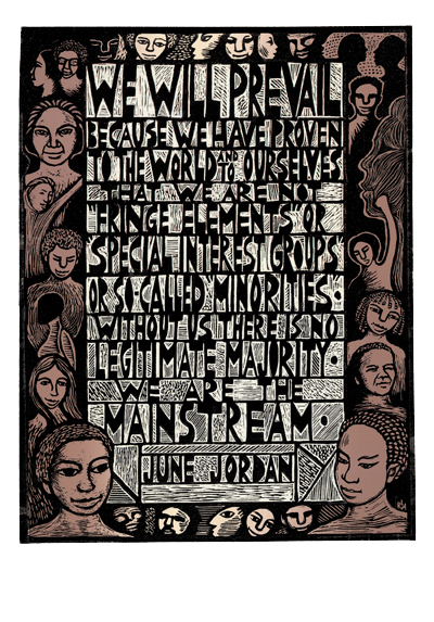 P592 We Are The Mainstream June Jordan