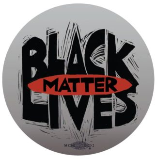 B740 Black Lives Matter Button - Grey