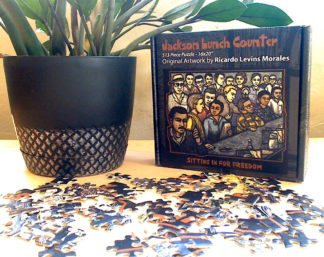 Jackson Lunch Counter 513pc Puzzle Ricardo Levins Morales