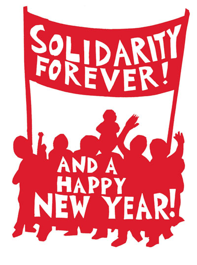 Solidarity Forever (Notecard)