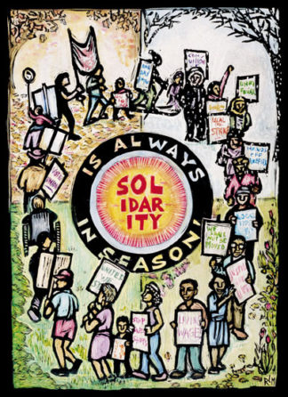 Solidarity is Always in Season (Notecard)