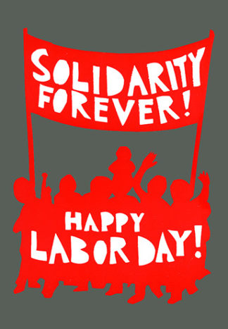 Happy Labor Day (Notecard)